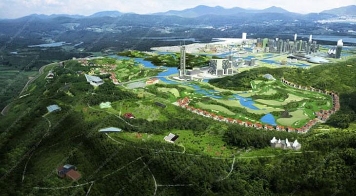 Dự án Khu dịch vụ đô thị văn hóa - thể thao và Học viện Golf Ao Châu, thị trấn Hạ Hòa, huyện Hạ Hòa. Ảnh chỉ mang tính minh họa. Nguồn Internet