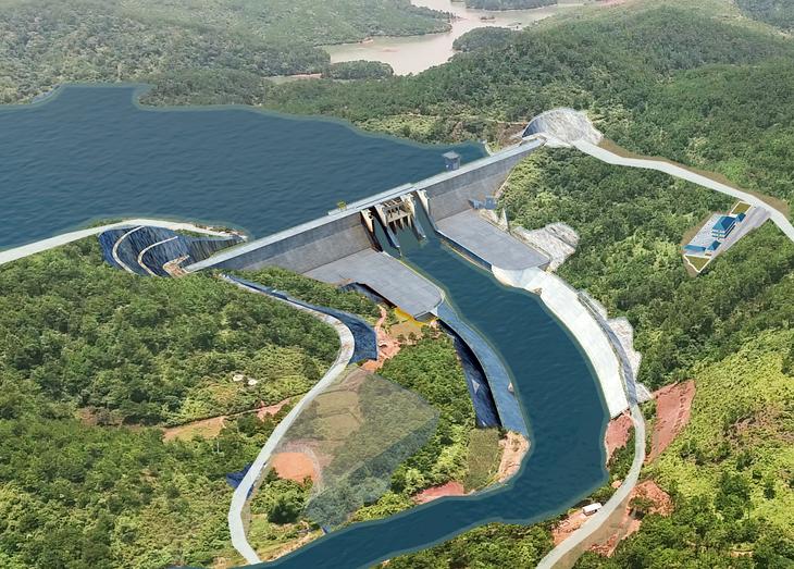 Phối cảnh dự án Hồ chứa nước Bản Lải