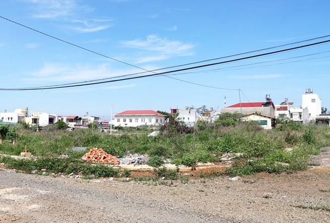 Nhiều lô đất tại khu P9 thuộc Tổ 13, Phường 1 được cấp cho các hộ dân không thông qua đấu giá .