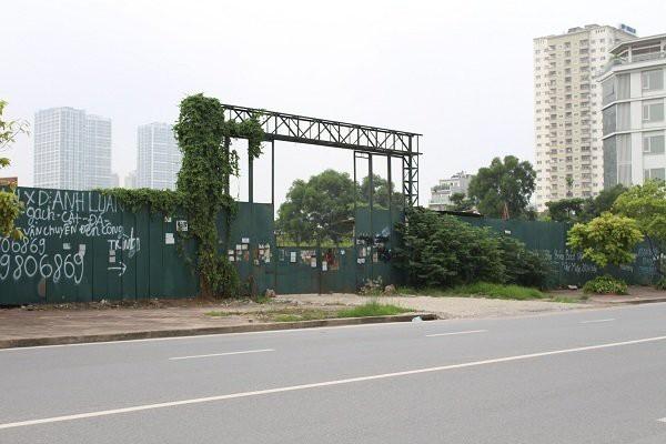 """Hà Nội kiến nghị thu hồi 3 khu """"đất vàng"""" của TD Group """"đắp chiếu"""" cả thập kỷ trong Khu đô thị Nam Trung Yên."""