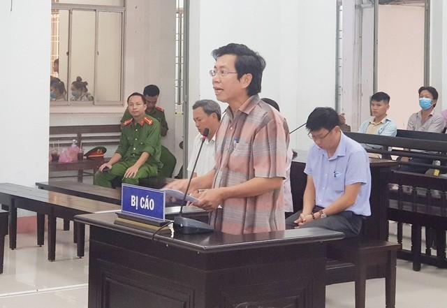 Phó Chủ tịch UBND TP Nha Trang Lê Huy Toàn tại phiên tòa phúc thẩm sáng 29/5