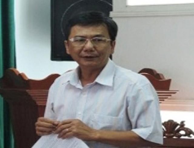 Ông Lê Tấn Thảo, nguyên Phó Chủ tịch UBND huyện Đông Hòa