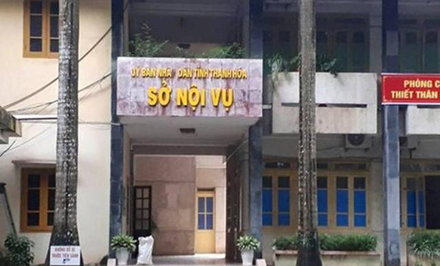 Sở Nội vụ Thanh Hóa- nơi ông Toàn công tác.