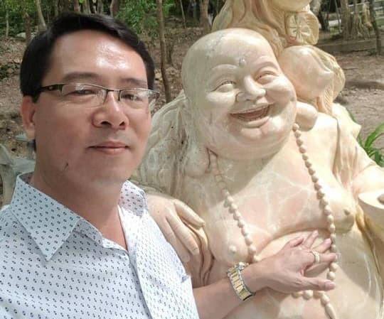 Ông Trương Hải Ân bị bắt khi đang lẩn trốn tại TPHCM.