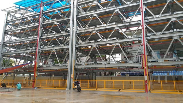 Đà Nẵng đã đưa vào hoạt động bãi đỗ xe thông minh đầu tiên tại 255 Phan Châu Trinh