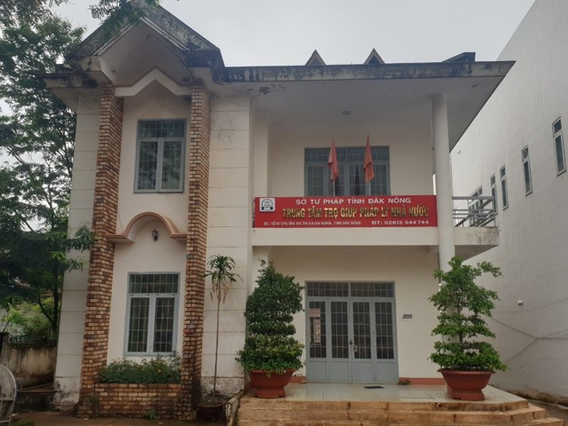 Trung tâm trợ giúp pháp lý tỉnh Đắk Nông