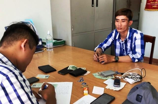 Công an phường Trần Phú (TP. Quy Nhơn) làm việc với Phong