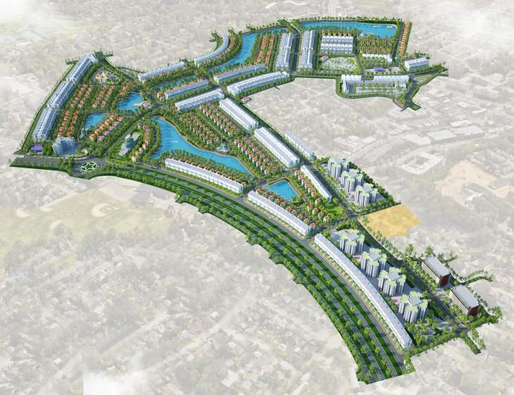 Phối cảnh Dự án Khu đô thị mới Nam Minh Phương