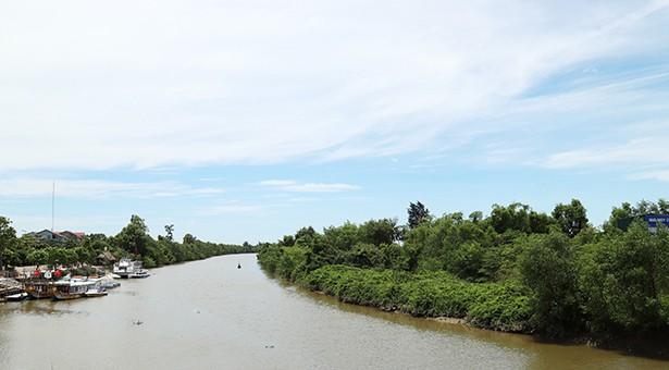 Khu vực Nam Cầu Phủ thuộc xã Thạch Bình, thành phố Hà Tĩnh . Ảnh chỉ mang tính minh họa. Nguồn Internet