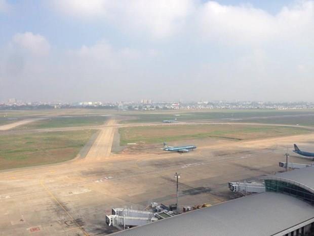 Cảng hàng không quốc tế Tân Sơn Nhất. Ảnh: Vietnam+