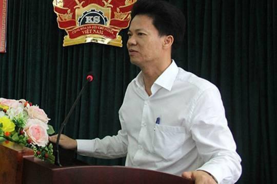 Bí thư quận Hà Đông Lê Cường