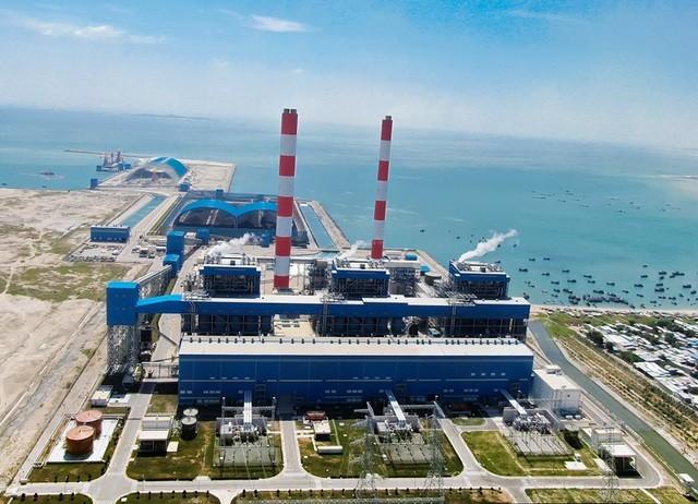 Nhiệt điện Vĩnh Tân 4 (Ảnh: Năng lượng Việt Nam).