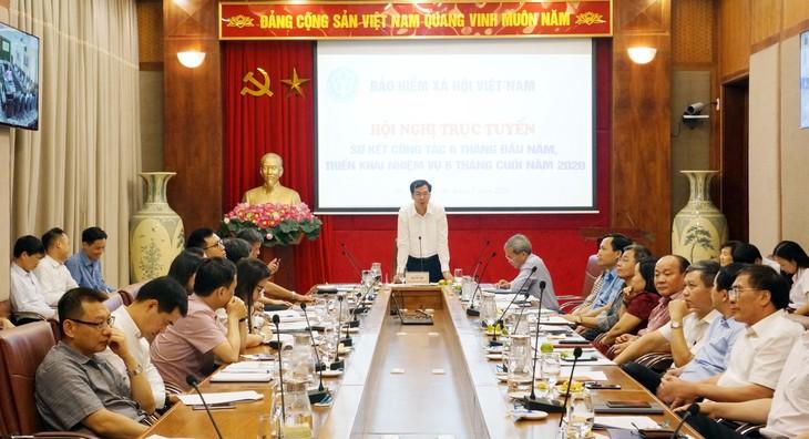 Phó Tổng giám đốc BHXH Đào Việt Anh chủ trì Hội nghị