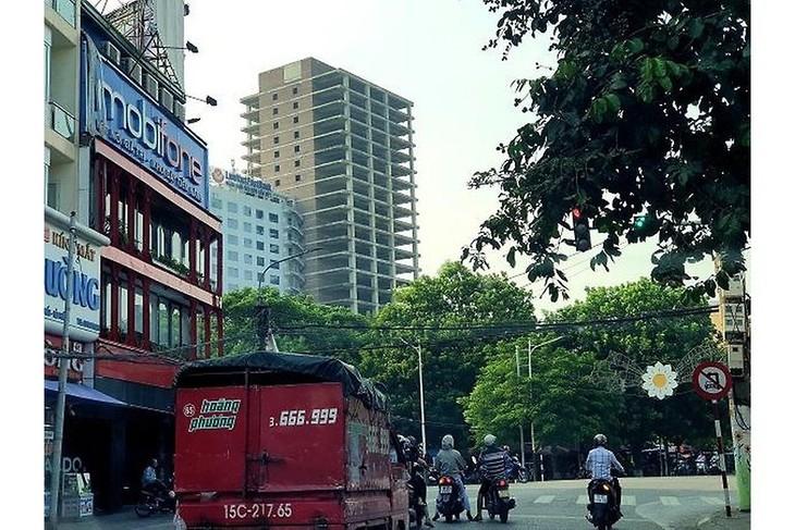 VIPCO Tower có diện tích đất 1.148,4 m2, tọa lạc tại số 37 Phan Bội Châu, quận Hồng Bàng. Nguồn Internet
