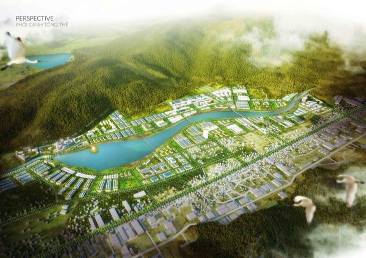 Phối cảnh Khu đô thị Long Vân