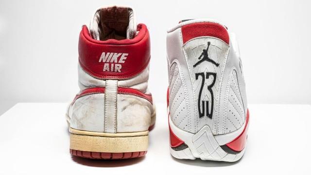 Đôi giày Nike của Michael Jordan dự kiến sẽ được bán với giá từ 8 đến 12 tỷ đồng.