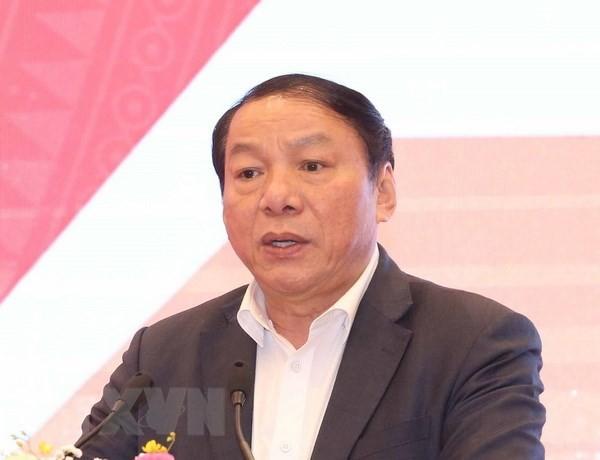 Tân Thứ trưởng Bộ Văn hóa, Thể thao và Du lịch Nguyễn Văn Hùng