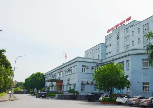 Cả 2 viên chức được đưa vào cách ly tại Bệnh viện Phổi Quảng Ninh