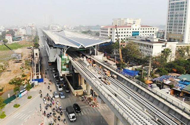 Hà Nội đề xuất kéo dài Dự án Đường sắt đô thị Nhổn - ga Hà Nội đến Hoàng Mai (ảnh: CAND)