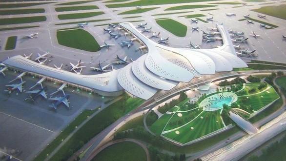 Phối cảnh sân bay Long Thành - Ảnh: Bộ GTVT