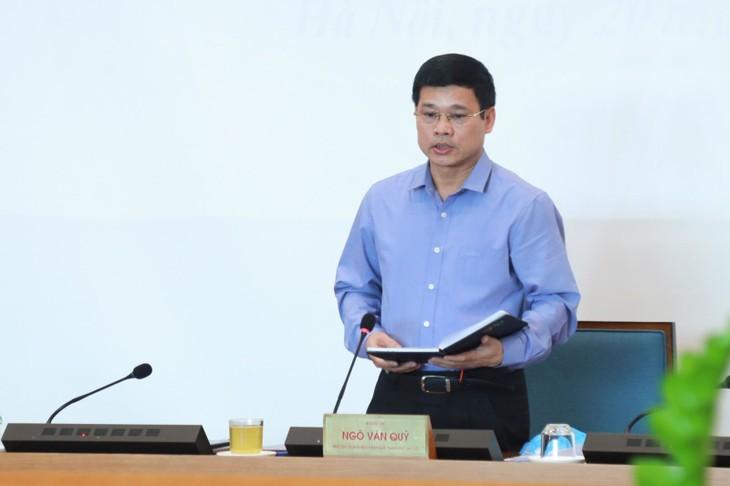 Ông Ngô Văn Quý, Phó Chủ tịch UBND TP Hà Nội sẽ tạm thời điều hành BCĐ chống dịch COVID-19, thay ông Nguyễn Đức Chung đang bị đình chỉ công tác.