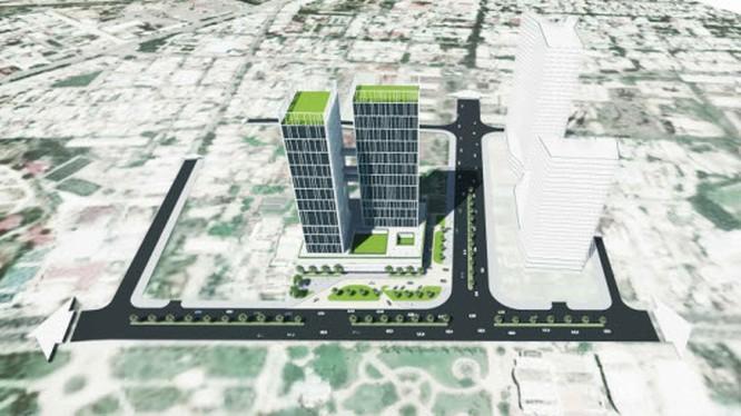 Phối cảnh dự án khách sạn trên khu đất K200. Ảnh: binhdinhinvest.gov.vn