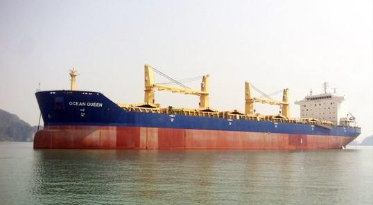 Tàu Ocean Queen. Nguồn: Marinetraffic