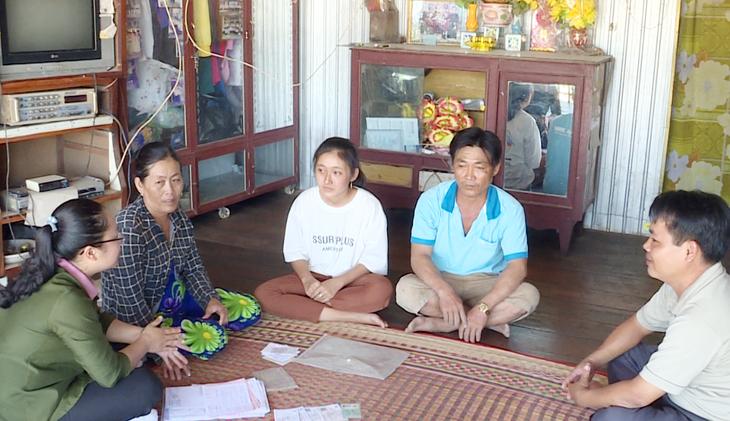Nhờ có quỹ BHYT chi trả chi phí KCB, em Nguyễn Bé Thảo và gia đình đã vượt qua giai đoạn khó khăn