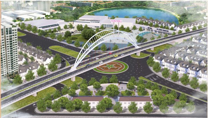 Quy hoạch Dự án xây dựng trục đường Hồ Sen - Cầu Rào 2