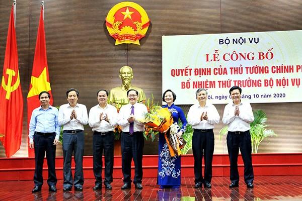 Bộ Nội vụ vượt một thứ trưởng là do yêu cầu của công tác cán bộ