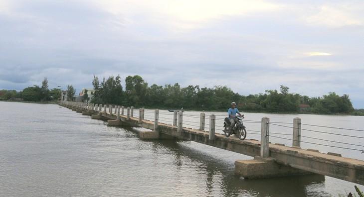 Dự án đầu tư xây dựng công trình cầu Tam Tiến và đường dẫn thay thế cây cầu cũ tại địa phận huyện Núi Thành. Ảnh chỉ mang tính minh họa. Nguồn Internet