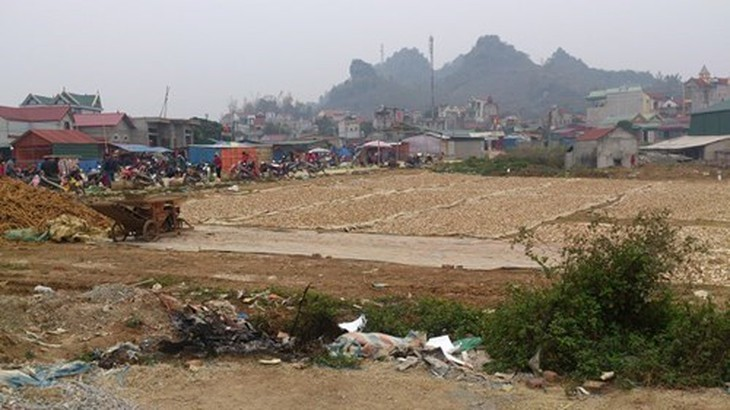 Một góc Dự án Khu đô thị mới ngã ba Cò Nòi. Nguồn Internet