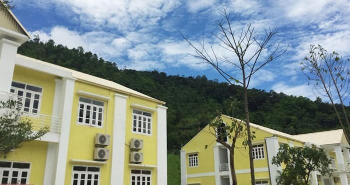 khu resort Ba Bể