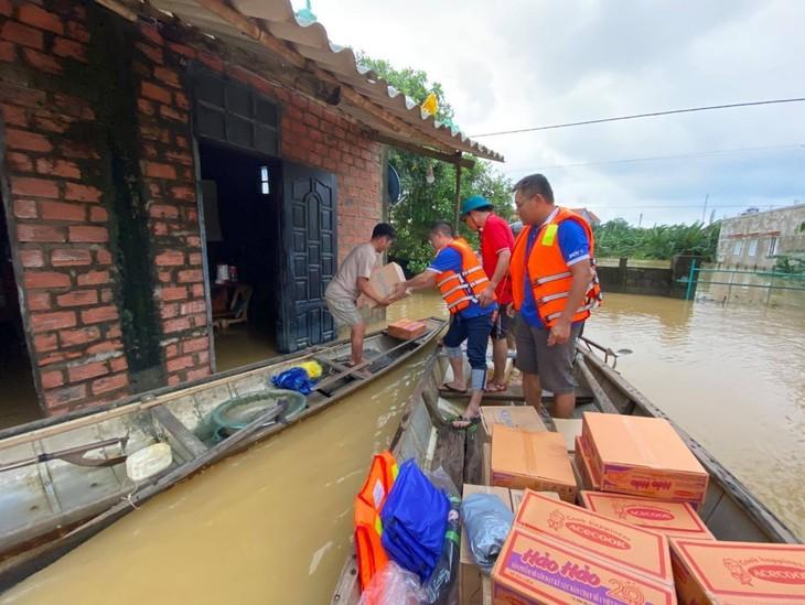 BIDV đã quyết định dành 08 tỷ đồng để hỗ trợ khẩn cấp cho đồng bào các tỉnh miền Trung