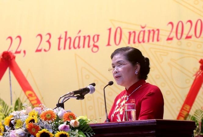 Bà Giàng Páo Mỷ. Ảnh: Cổng thông tin Lai Châu