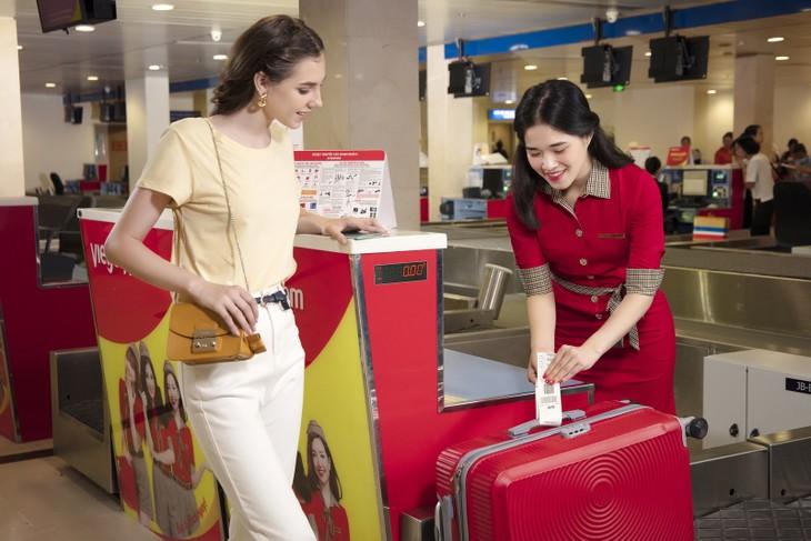 """Vietjet tung khuyến mại """"kép"""" 50% giá vé và hành lý ký gửi toàn mạng bay nội địa"""