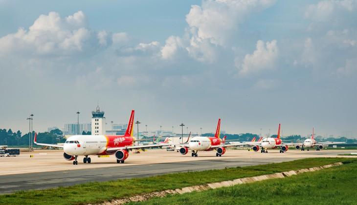 Vietjet tạm ngừng khai thác 2 chuyến bay và điều chỉnh lịch khai thác do ảnh hưởng của bão Molave