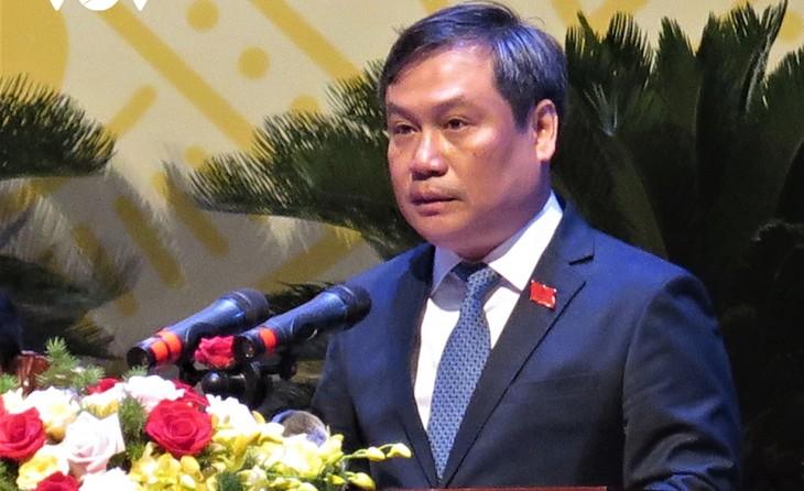 Ông Vũ Đại Thắng tái đắc cử Bí thư Tỉnh ủy Quảng Bình khóa XVII, nhiệm kỳ 2020-2025