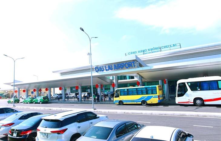 Cảng hàng không Chu Lai, tỉnh Quảng Nam. Nguồn ảnh: ACV