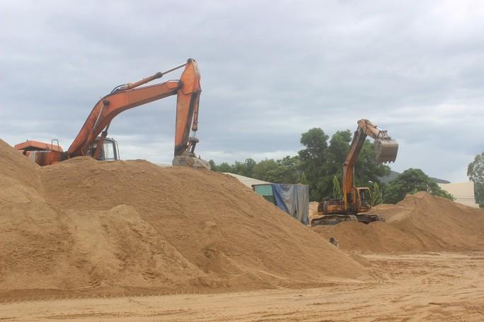 Đầu tư và xây dựng Minh Anh trúng đấu giá mỏ cát tại Ninh Thuận