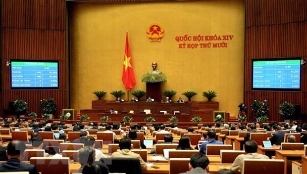 Một phiên họp của Quốc hội. Ảnh: TTXVN