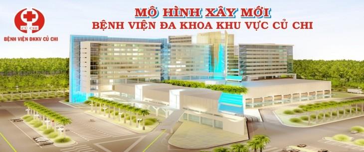 Mời thầu 2 gói xây lắp 2 bệnh viện gần 4.000 tỷ đồng tại TP.HCM