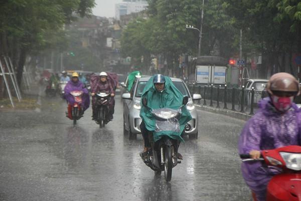Các tỉnh miền Bắc, miền Trung đều đón mưa trong tuần tới. Ảnh minh họa.