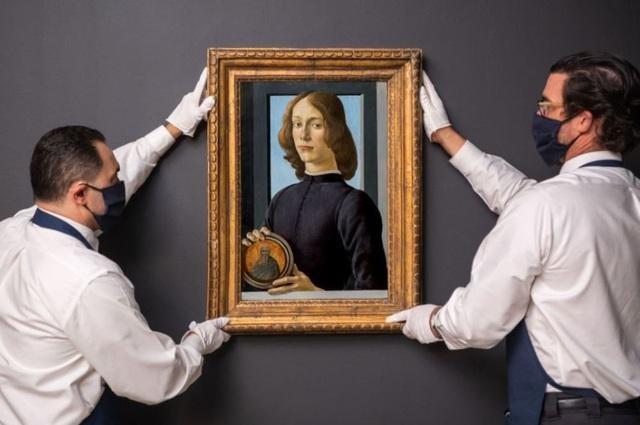 Bức vẽ của danh họa người Ý thời Phục hưng Sandro Botticelli đã được bán đấu giá với giá 92,2 triệu USD. (Ảnh: Sotheby's)