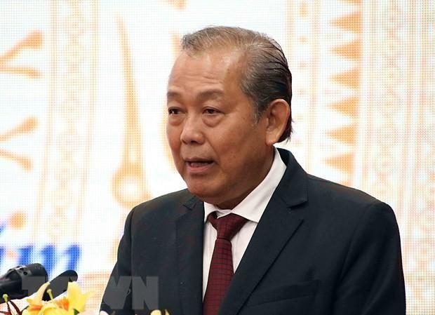Phó Thủ tướng Thường trực Chính phủ Trương Hòa Bình. Ảnh: TTXVN