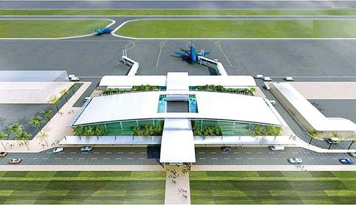 Phối cảnh Cảng hàng không Quảng Trị
