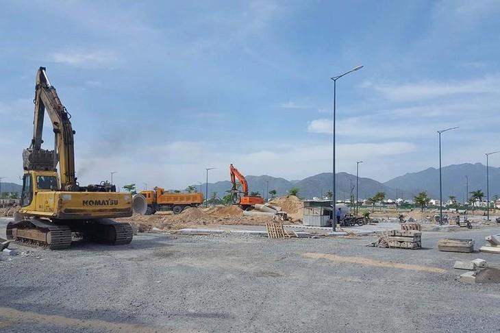 Một góc khu đất thuộc dự án trung tâm đô thị - thương mại - dịch vụ - tài chính - du lịch Nha Trang tại sân bay Nha Trang cũ