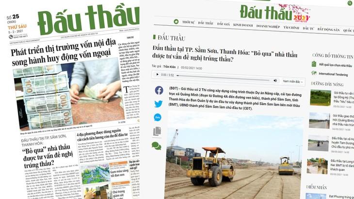 Nhà thầu Việt Phương cho rằng, quá trình lựa chọn nhà thầu này đã vi phạm quy định về đấu thầu