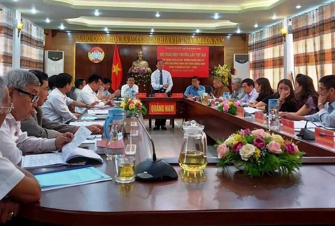 Ủy ban Mặt trận Tổ quốc Việt Nam tỉnh Quảng Nam tổ chức Hội nghị hiệp thương lần thứ 2