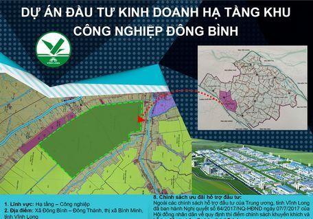 Hơn 3.026 tỷ đồng đầu tư hạ tầng khu công nghiệp Đông Bình